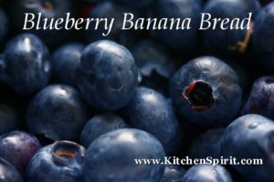 picture of fresh blueberries blueberry banana bread kitchen spirit recipes jill reid