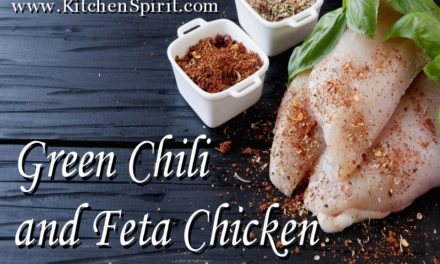 Green Chili and Feta Chicken