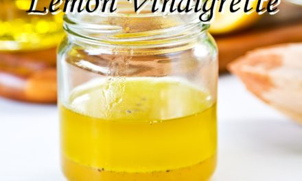 Lemon Vinaigrette Dressing
