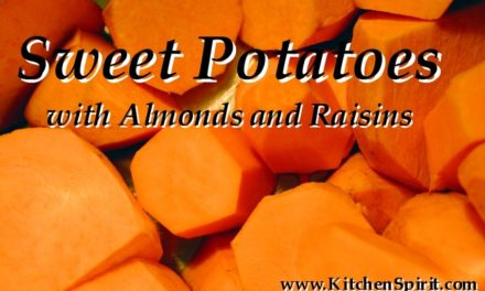 Sweet Potatoes with Almonds and Raisins
