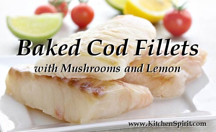 Baked Cod Fillets