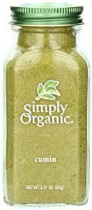 picture of bottle simply organic cumin kitchen spirit recipe sweet potatoes with almonds and raisins jill reid