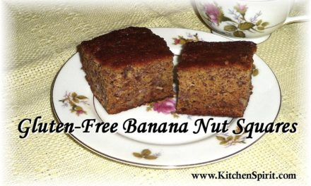 Gluten-Free Banana Nut Squares