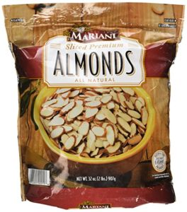 picture of mariani sliced almonds kitchen spirit recipe sweet potatoes with almonds and raisins jill reid