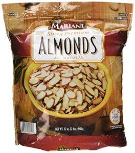 picture of mariani sliced almonds kitchen spirit recipe sweet potatoes with almonds and raisins jill reid