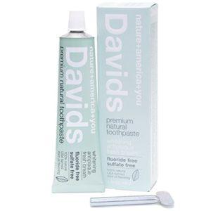 picture of david's natural fluoride-free toothpaste kitchen spirit jill reid update