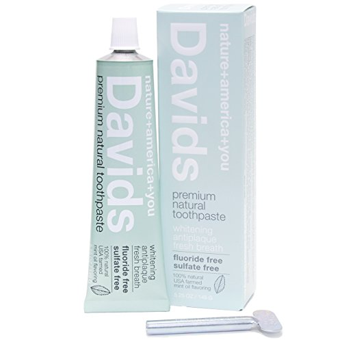 David's natural fluoride-free toothpaste