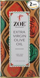kitchen spirit update jill reid blog post Zoe Extra Virgin Olive Oil