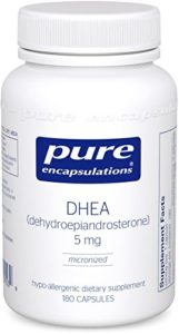 picture of pure encapsulation DHEA kitchen spirit jill reid