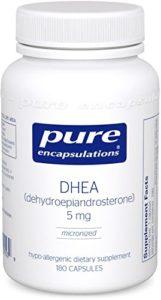 picture of pure encapsulation DHEA kitchen spirit jill reid