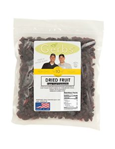 dried cape code cranberries