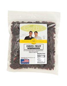 dried cape code cranberries