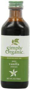 organic pure vanilla