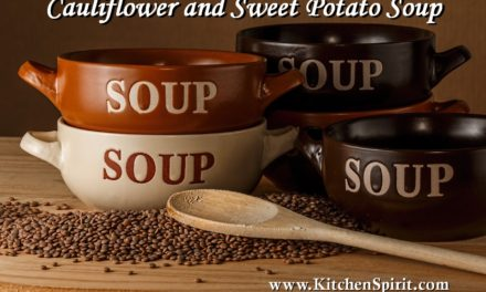 Cauliflower and Sweet Potato Soup