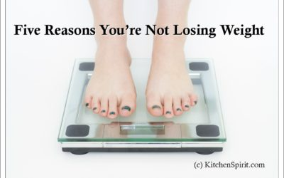 Five Reasons You're Not Losing Weight