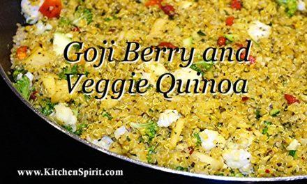 Goji Berry and Veggie Quinoa