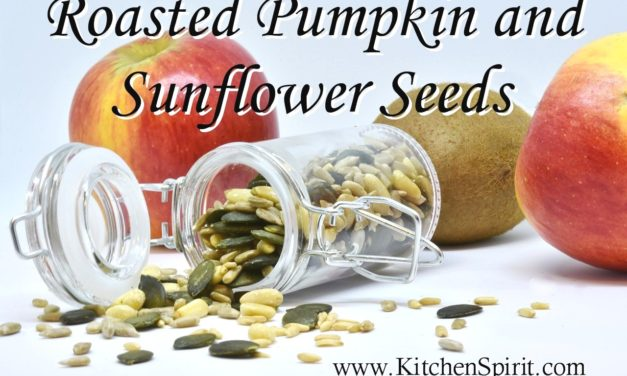 Roasted Pumpkin and Sunflower Seeds