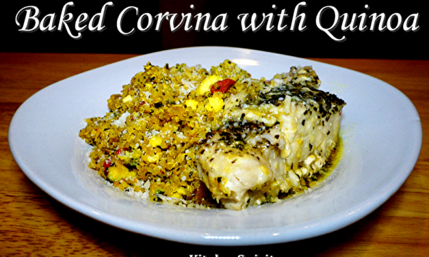 Corvina with Goji Berry Quinoa