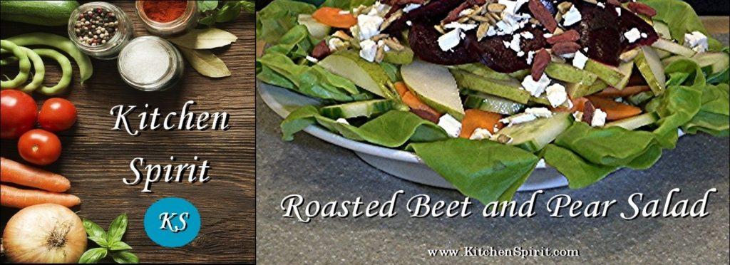 Roasted Beet and Pear Salad Jill Reid Kitchen Spirit