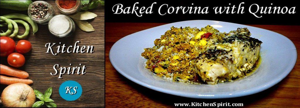 baked corvina with quinoa jill reid kitchen spirit