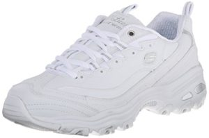 Skechers Womens D'lites Memory Foam gym shoes