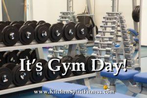 It's Gym Day Kitchen Spirit Fitness Jill Reid