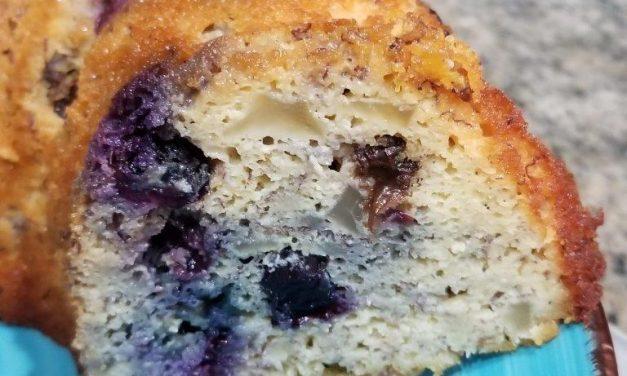Apple Blueberry Bundt Cake